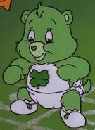 Good Luck Bear as a baby