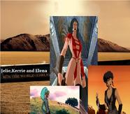 Julie,Kerrie and Elena Run the World (Girls)