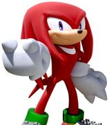 Knuckles the Echidna in Team Sonic Racing
