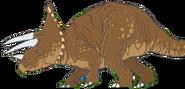 Triceratops Math vs Dinosaurs