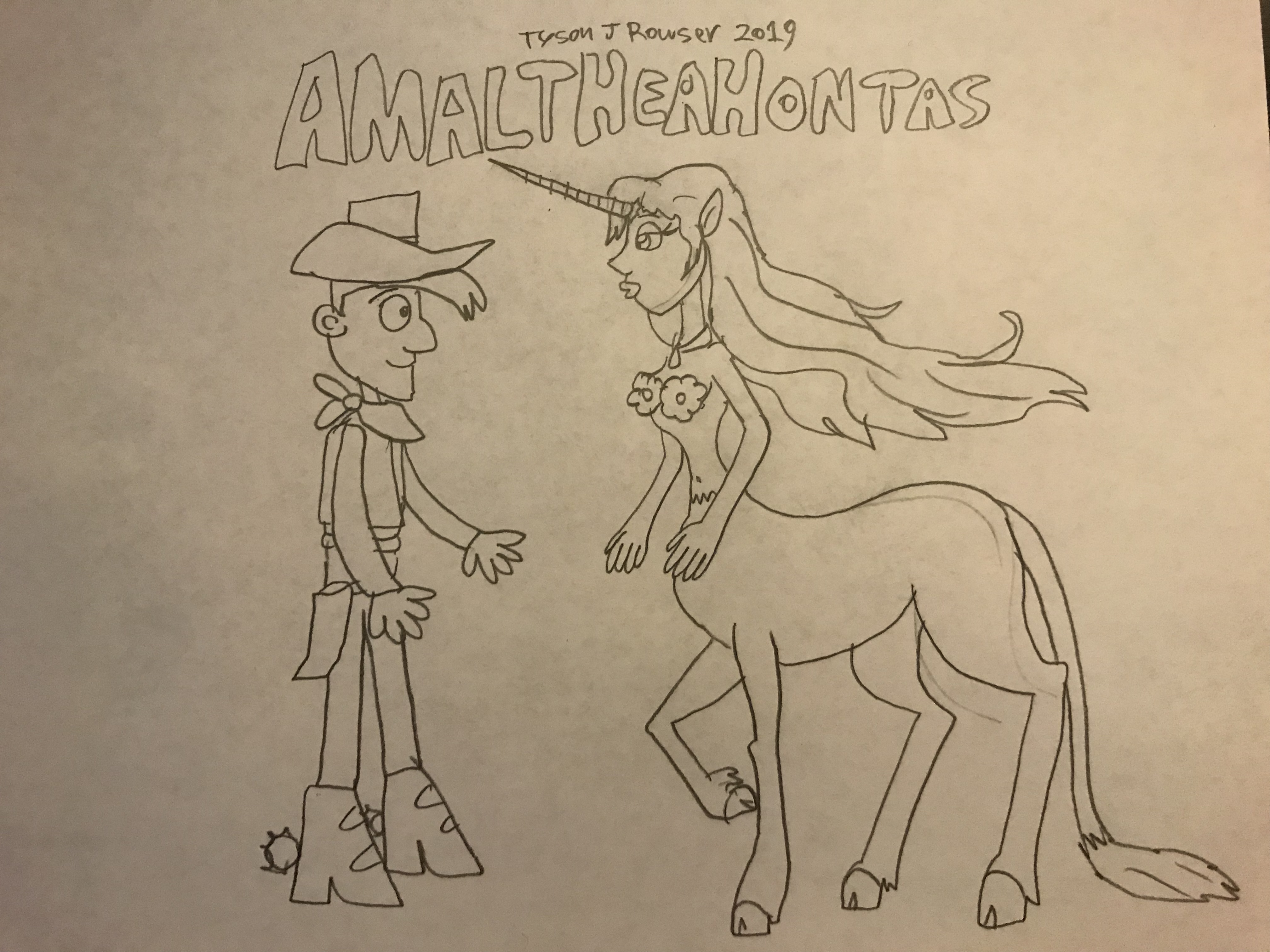 Amaltheahontas (Jamison Allen Productions Style)