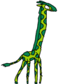 Beast Boy as a Giraffe