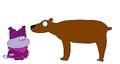 Chowder meets Brown Bear