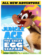 Jungle Age - The Great Egg-Scapade Poster