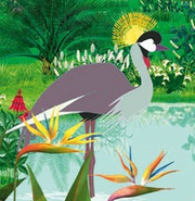 Kirikou Grey Crowned Crane