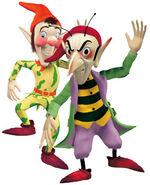 Noddy goblins sly gobbo