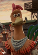 Rocky the Rooster from Chicken Run