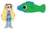 Star meets Parrotfish