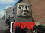 Dennis the Lazy Gray Diesel