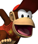 Diddy Kong in Donkey Kong - Jungle Climber