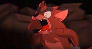 Foxy runs toward Springtrap (15)