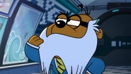 Penfold with Colonel K's Mustache 6