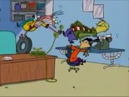 Poor Eddy learns that Billy is broke and screams at him.