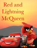 Red and Lightning McQueen (Timon and Pumbaa) TV Poster