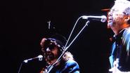 Eric Clapton and Jeff Lynne Singing Something