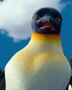 Gloria the Penguin Scared