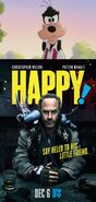 Goofy Hates Happy!