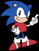 Sonic the Hedgehog as Winnie the Pooh
