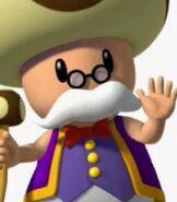 Toadsworth in Mario Super Sluggers