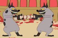 Vftsov-hyenas