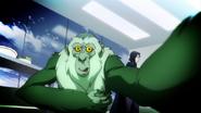 Beast Boy as Mandrill