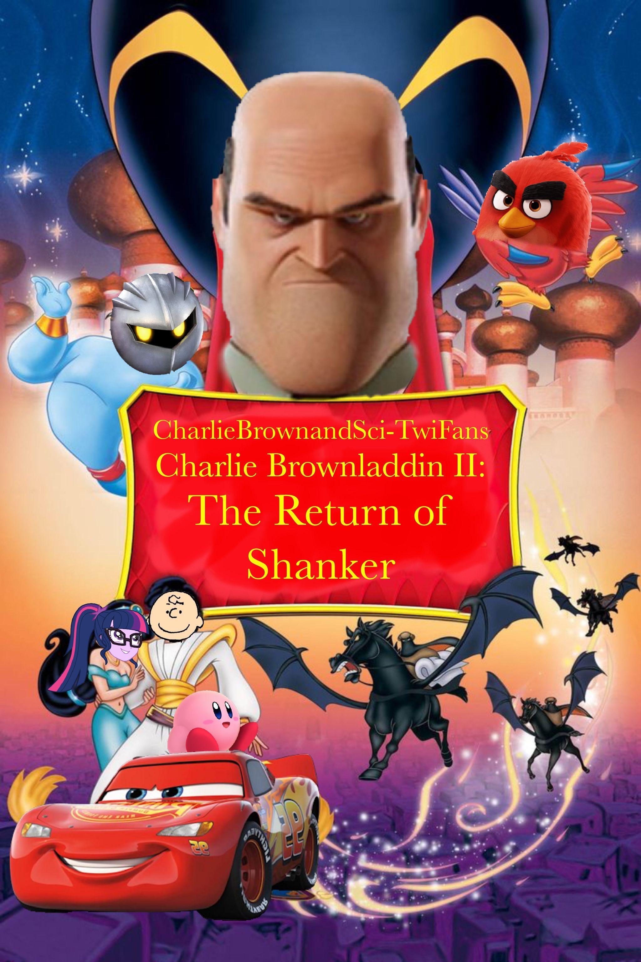 Charlie Brownladdin II: The Return of Shanker (CharlieBrownandSci-TwiFans Style)
