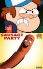 Dipper Pines Hates Sausage Party (2016)
