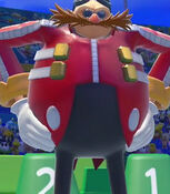 Dr. Eggman in Mario and Sonic at the Rio Olympic Games