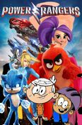 Power Rangers (CharlieBrownandSci-TwiFans, 2017; Movie Poster)