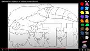 Alphabet Express Toucan