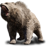 Cave Bear (With No Backround)