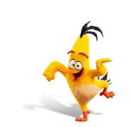Chuck Angry Birds Movie 2 Render
