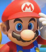 Mario in Mario + Rabbids- Kingdom Battle (2017)