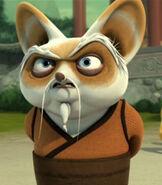 Shifu in Kung Fu Panda- Legends of Awesomeness