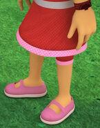 Amaya's Pink Mary Jane Shoes