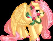 Carousel Fluttershy by KittehKatBar