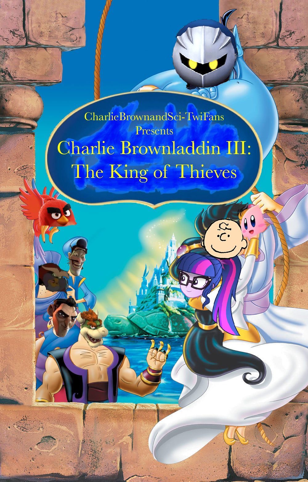 Charlie Brownladdin III: The King of Thieves (CharlieBrownandSci-TwiFans Style)