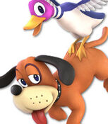 Duck Hunt in Super Smash Bros. Ultimate