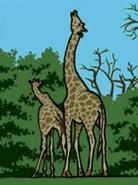 Hugo lek och lar 2 den magiska resan giraffe