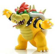 King Bowser Koopa as Dinosaur