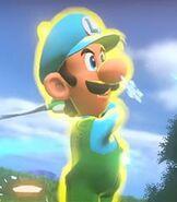 Luigi in Mario Golf- World Tour