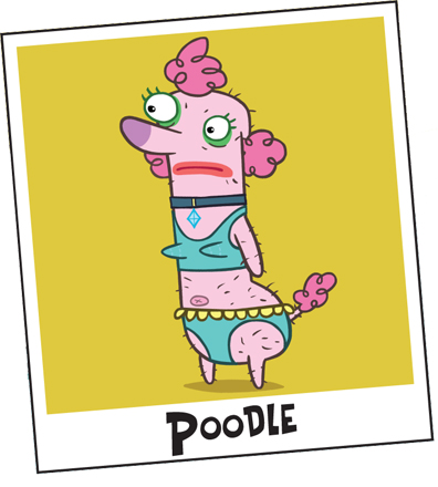 Poodle (Almost Naked Animals)