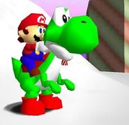 SM64 Last Impact Mario and Yoshi