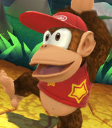 Diddy Kong in Super Smash Bros. for Wii-U and 3DS
