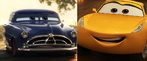 Doc Hudson and Cruz Ramirez