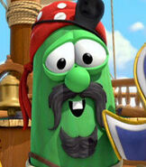 Elliot (Larry the Cucumber) in The Pirates Who Don't Do Anything: A VeggieTales Movie