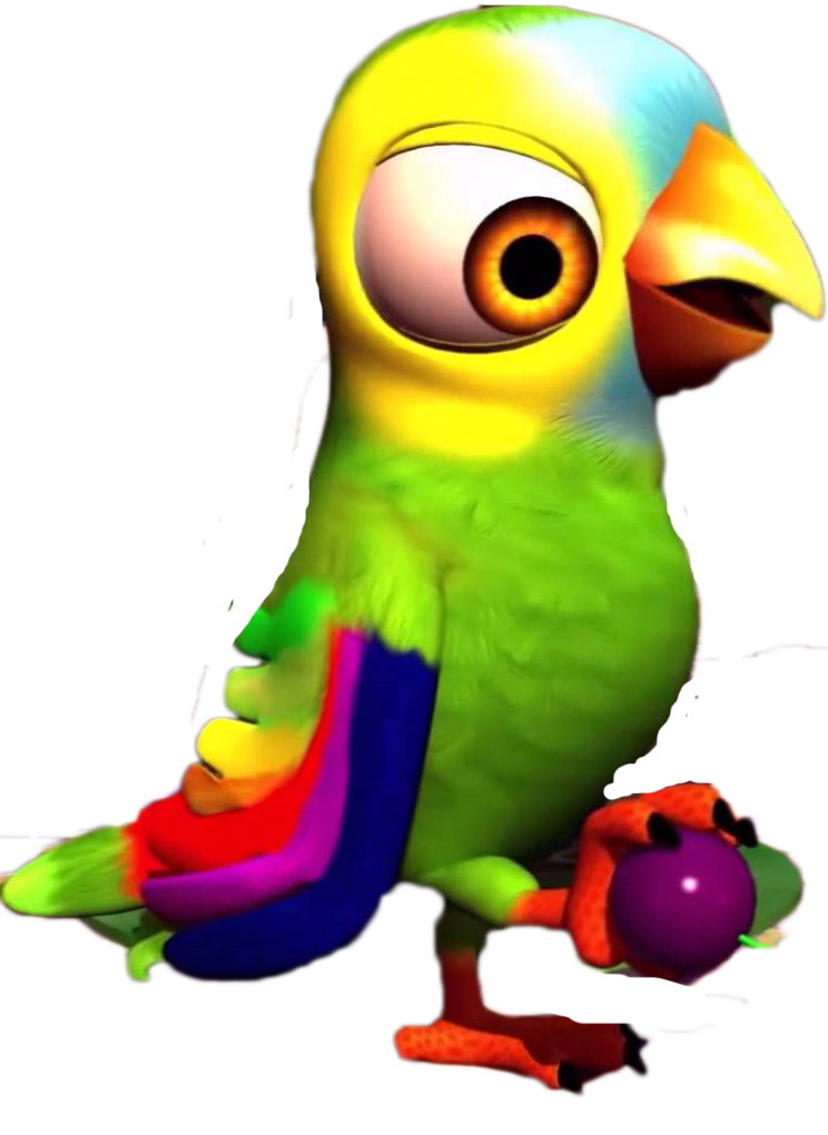 Pepe the Parrot