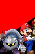 Meta Knight and Mario (Brothers)