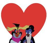Rocko and Gwynne in love