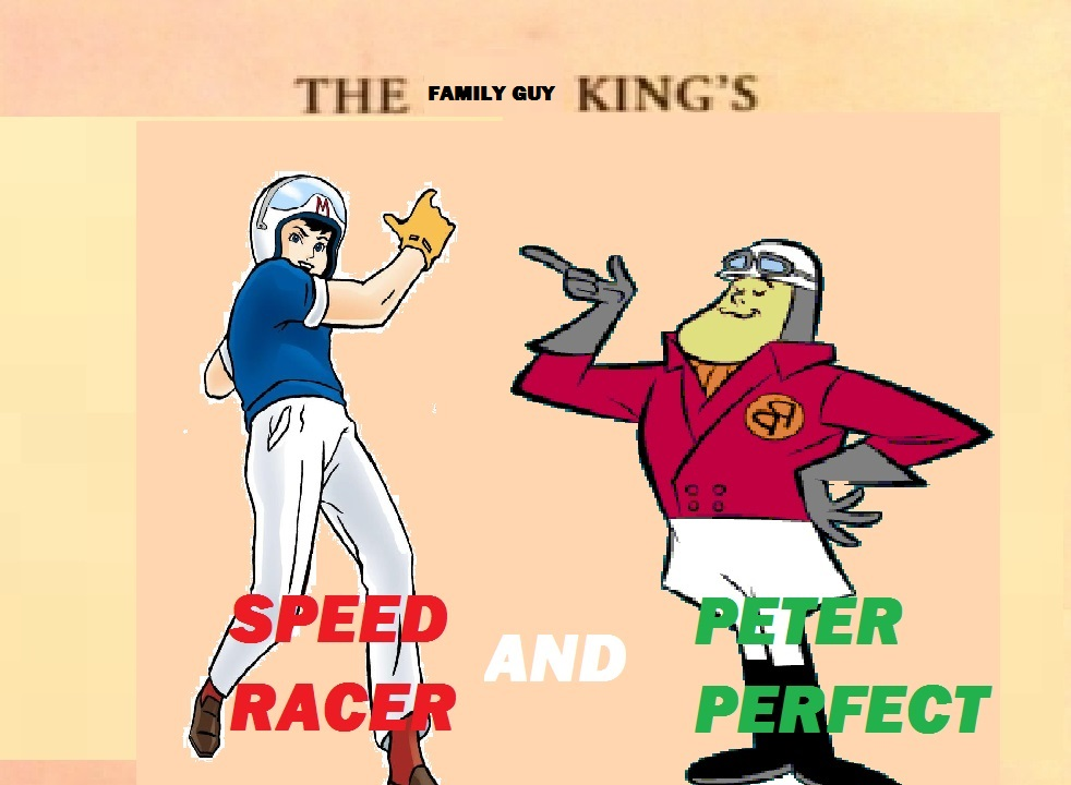 Speed Racer and Peter Perfect
